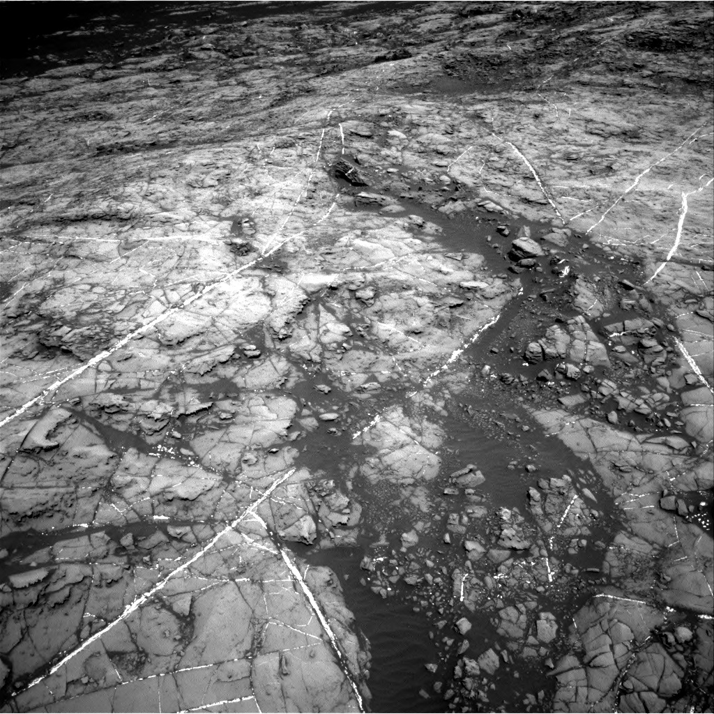 Nasa's Mars rover Curiosity acquired this image using its Right Navigation Camera on Sol 1192, at drive 2280, site number 51