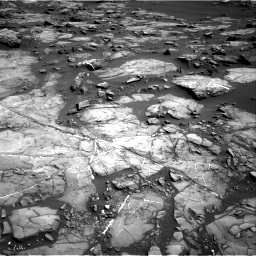 Nasa's Mars rover Curiosity acquired this image using its Right Navigation Camera on Sol 1192, at drive 2292, site number 51