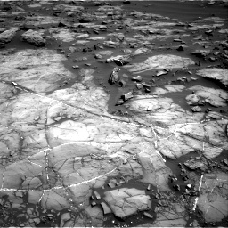 Nasa's Mars rover Curiosity acquired this image using its Right Navigation Camera on Sol 1192, at drive 2298, site number 51