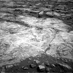 Nasa's Mars rover Curiosity acquired this image using its Right Navigation Camera on Sol 1192, at drive 2316, site number 51