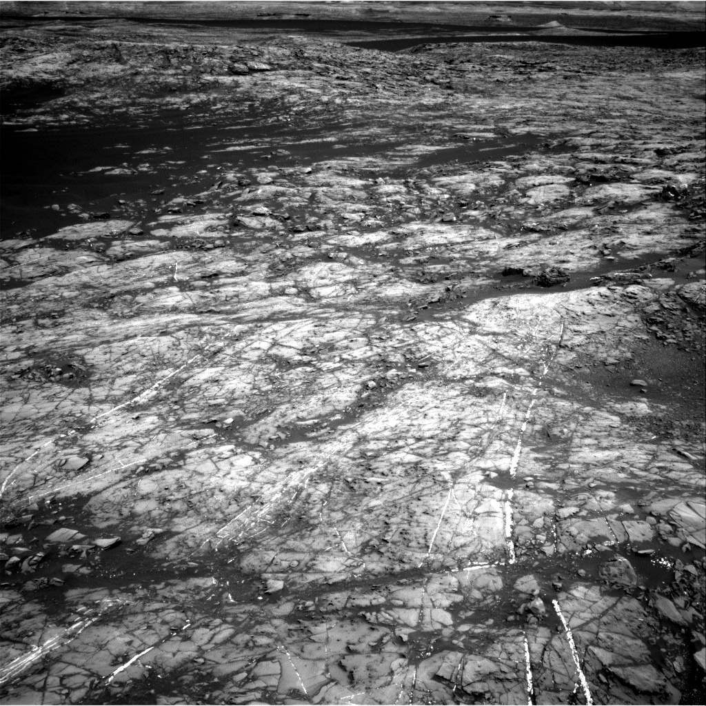 Nasa's Mars rover Curiosity acquired this image using its Right Navigation Camera on Sol 1192, at drive 2322, site number 51