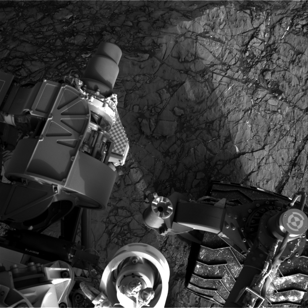 Nasa's Mars rover Curiosity acquired this image using its Right Navigation Camera on Sol 1193, at drive 2322, site number 51
