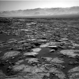 Nasa's Mars rover Curiosity acquired this image using its Left Navigation Camera on Sol 1194, at drive 2328, site number 51