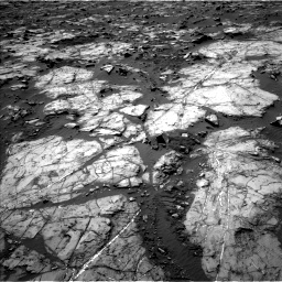 Nasa's Mars rover Curiosity acquired this image using its Left Navigation Camera on Sol 1194, at drive 2352, site number 51