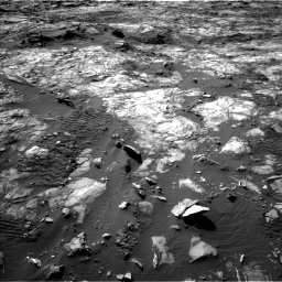 Nasa's Mars rover Curiosity acquired this image using its Left Navigation Camera on Sol 1194, at drive 2472, site number 51