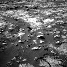 Nasa's Mars rover Curiosity acquired this image using its Left Navigation Camera on Sol 1194, at drive 2478, site number 51