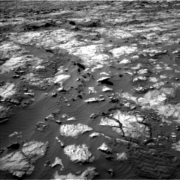 Nasa's Mars rover Curiosity acquired this image using its Left Navigation Camera on Sol 1194, at drive 2484, site number 51