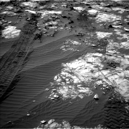 Nasa's Mars rover Curiosity acquired this image using its Left Navigation Camera on Sol 1194, at drive 2538, site number 51