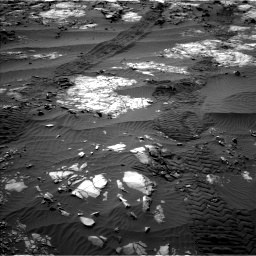 Nasa's Mars rover Curiosity acquired this image using its Left Navigation Camera on Sol 1194, at drive 2586, site number 51