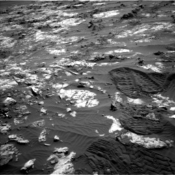 Nasa's Mars rover Curiosity acquired this image using its Left Navigation Camera on Sol 1194, at drive 2658, site number 51