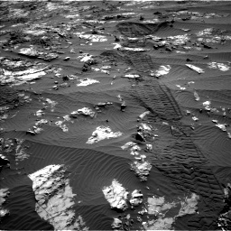 Nasa's Mars rover Curiosity acquired this image using its Left Navigation Camera on Sol 1194, at drive 2682, site number 51