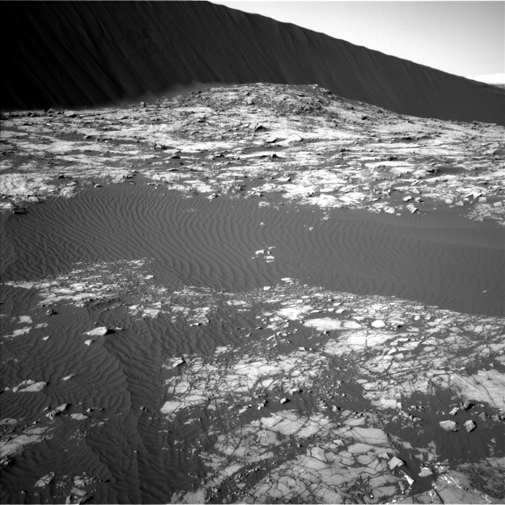 Nasa's Mars rover Curiosity acquired this image using its Left Navigation Camera on Sol 1194, at drive 2704, site number 51