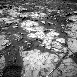 Nasa's Mars rover Curiosity acquired this image using its Right Navigation Camera on Sol 1194, at drive 2328, site number 51
