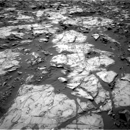 Nasa's Mars rover Curiosity acquired this image using its Right Navigation Camera on Sol 1194, at drive 2334, site number 51