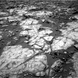 Nasa's Mars rover Curiosity acquired this image using its Right Navigation Camera on Sol 1194, at drive 2340, site number 51