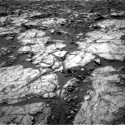 Nasa's Mars rover Curiosity acquired this image using its Right Navigation Camera on Sol 1194, at drive 2346, site number 51