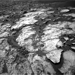 Nasa's Mars rover Curiosity acquired this image using its Right Navigation Camera on Sol 1194, at drive 2370, site number 51