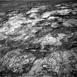 Nasa's Mars rover Curiosity acquired this image using its Right Navigation Camera on Sol 1194, at drive 2400, site number 51