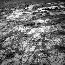 Nasa's Mars rover Curiosity acquired this image using its Right Navigation Camera on Sol 1194, at drive 2412, site number 51