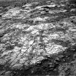 Nasa's Mars rover Curiosity acquired this image using its Right Navigation Camera on Sol 1194, at drive 2418, site number 51