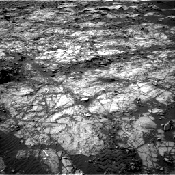Nasa's Mars rover Curiosity acquired this image using its Right Navigation Camera on Sol 1194, at drive 2436, site number 51