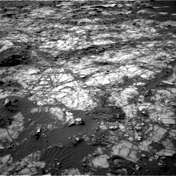 Nasa's Mars rover Curiosity acquired this image using its Right Navigation Camera on Sol 1194, at drive 2442, site number 51