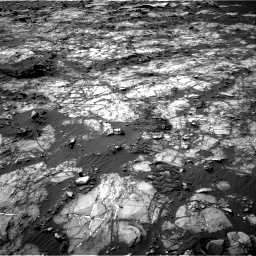 Nasa's Mars rover Curiosity acquired this image using its Right Navigation Camera on Sol 1194, at drive 2448, site number 51
