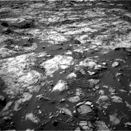 Nasa's Mars rover Curiosity acquired this image using its Right Navigation Camera on Sol 1194, at drive 2460, site number 51