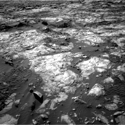 Nasa's Mars rover Curiosity acquired this image using its Right Navigation Camera on Sol 1194, at drive 2466, site number 51