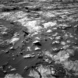 Nasa's Mars rover Curiosity acquired this image using its Right Navigation Camera on Sol 1194, at drive 2478, site number 51