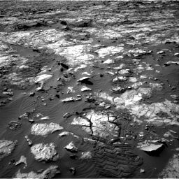 Nasa's Mars rover Curiosity acquired this image using its Right Navigation Camera on Sol 1194, at drive 2484, site number 51