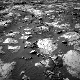 Nasa's Mars rover Curiosity acquired this image using its Right Navigation Camera on Sol 1194, at drive 2496, site number 51