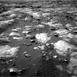 Nasa's Mars rover Curiosity acquired this image using its Right Navigation Camera on Sol 1194, at drive 2502, site number 51