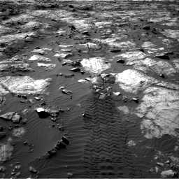 Nasa's Mars rover Curiosity acquired this image using its Right Navigation Camera on Sol 1194, at drive 2508, site number 51
