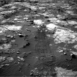Nasa's Mars rover Curiosity acquired this image using its Right Navigation Camera on Sol 1194, at drive 2514, site number 51