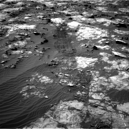 Nasa's Mars rover Curiosity acquired this image using its Right Navigation Camera on Sol 1194, at drive 2526, site number 51