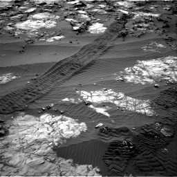 Nasa's Mars rover Curiosity acquired this image using its Right Navigation Camera on Sol 1194, at drive 2568, site number 51