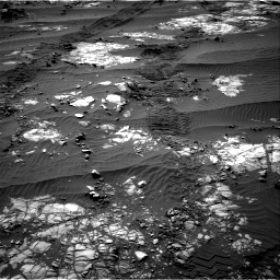 Nasa's Mars rover Curiosity acquired this image using its Right Navigation Camera on Sol 1194, at drive 2598, site number 51