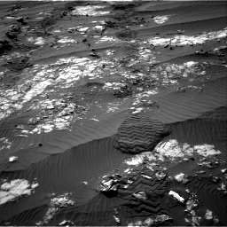 Nasa's Mars rover Curiosity acquired this image using its Right Navigation Camera on Sol 1194, at drive 2616, site number 51
