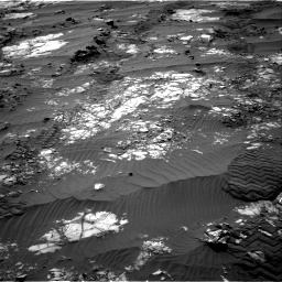 Nasa's Mars rover Curiosity acquired this image using its Right Navigation Camera on Sol 1194, at drive 2628, site number 51