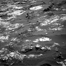 Nasa's Mars rover Curiosity acquired this image using its Right Navigation Camera on Sol 1194, at drive 2640, site number 51