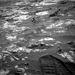 Nasa's Mars rover Curiosity acquired this image using its Right Navigation Camera on Sol 1194, at drive 2646, site number 51