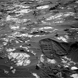 Nasa's Mars rover Curiosity acquired this image using its Right Navigation Camera on Sol 1194, at drive 2652, site number 51