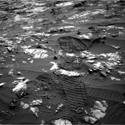 Nasa's Mars rover Curiosity acquired this image using its Right Navigation Camera on Sol 1194, at drive 2664, site number 51