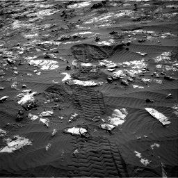 Nasa's Mars rover Curiosity acquired this image using its Right Navigation Camera on Sol 1194, at drive 2670, site number 51