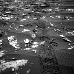 Nasa's Mars rover Curiosity acquired this image using its Right Navigation Camera on Sol 1194, at drive 2694, site number 51