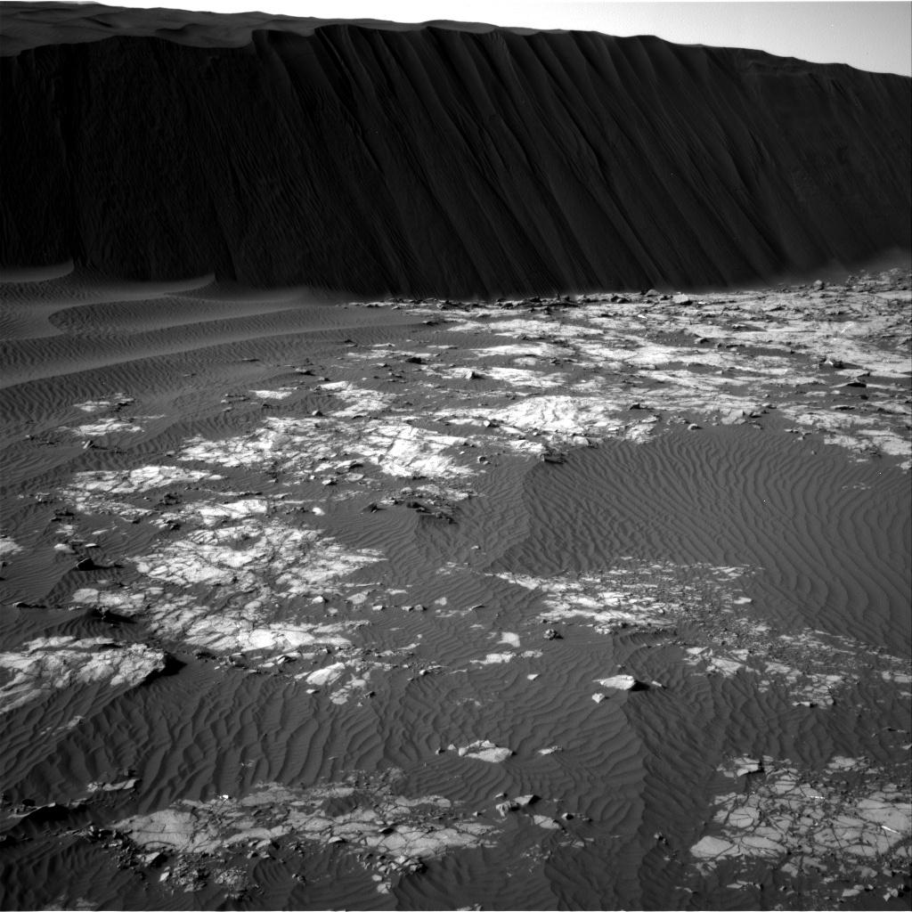 Sol 1194 Navcam Namib Dune