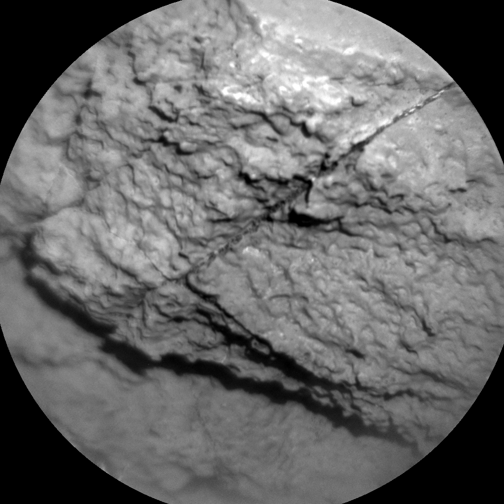 Nasa's Mars rover Curiosity acquired this image using its Chemistry & Camera (ChemCam) on Sol 1194, at drive 2322, site number 51