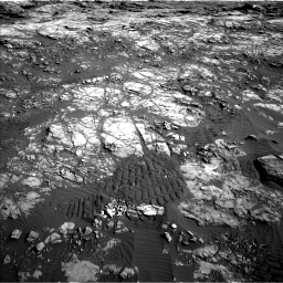 Nasa's Mars rover Curiosity acquired this image using its Left Navigation Camera on Sol 1196, at drive 2746, site number 51