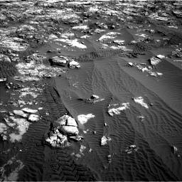 Nasa's Mars rover Curiosity acquired this image using its Left Navigation Camera on Sol 1196, at drive 2764, site number 51